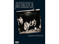 METALLICA CUNNING STUNTS Double DVD boxset Documentary & Live Footage