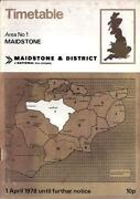 Maidstone & District Timetable