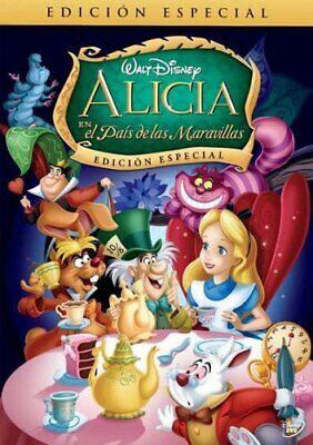 ALICIA EN EL PAIS DE LAS MARAVILLAS DVD NUEVO PRECINTADO ANIMACION DISNEY