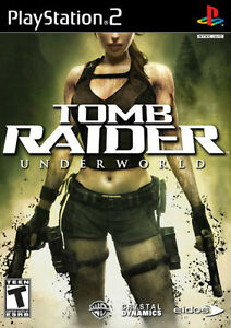 Tomb raider Underwold PS2