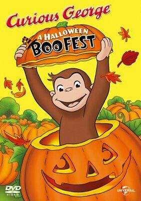 Curious George: A Halloween Boo Fest [DVD][Region - Curious George Halloween Boo Fest Movie