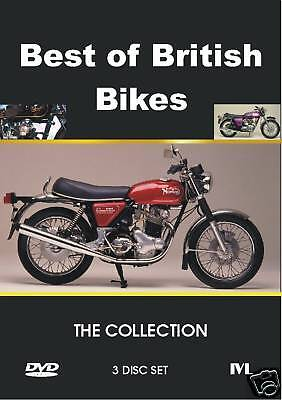 BEST OF BRITISH BIKES  - THE COLLECTION - 3 DISC SET - FREE POST IN