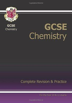GCSE Chemistry Complete Revision & Practice, CGP Books Paperback Book The Cheap