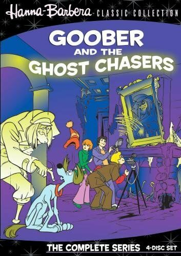GOOBER & THE GHOST CHASERS ((Hanna Barbera) 4 disc - Region Free DVD - Sealed