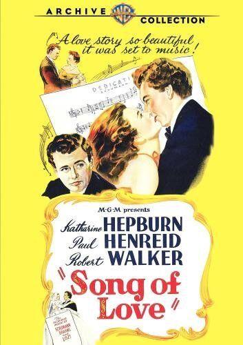 SONG OF LOVE - (B&W) (1947 Katerhine Hepburn) Region Free DVD - Sealed