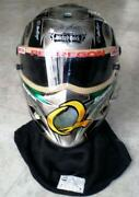 Race Worn Helmet