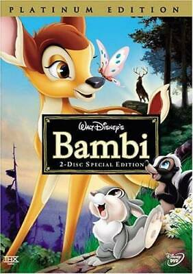 Bambi (Two-Disc Platinum Edition) - DVD - VERY GOOD