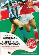 League Cup Final Programmes