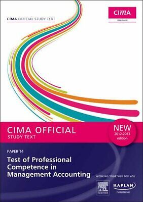 CIMA Official Study Text Test of Professional Competence in Managemen... by CIMA