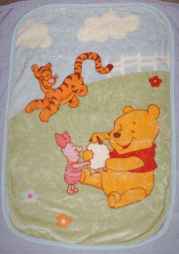 Winnie The Pooh Plush Blanket Ebay