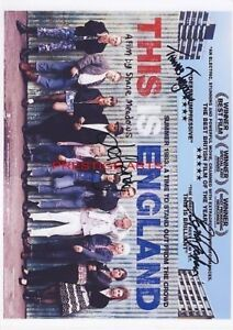 This is England signed movie poster print