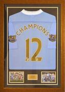 Man City Champions Shirt