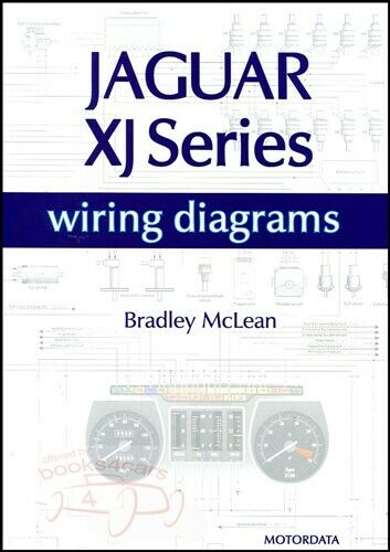 JAGUAR ELECTRICAL WIRING DIAGRAMS XJS XJ6 XJ12 SCHEMATICS BOOK McLEAN V12 |  eBay | 2005 Jaguar Xj Wiring Diagram |  | eBay