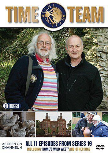 Time Team Series 19 Season Nineteen (Tony Robinson) Region 4 New DVD (3 Discs)