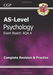 AS-Level Psychology AQA A Complete Revision & Practice... by CGP Books Paperback