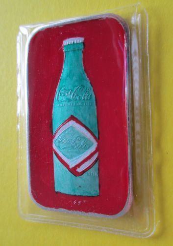 Coca Cola Silver Bar Ebay