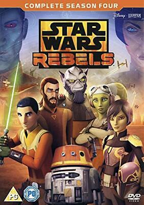 Star Wars Rebels: Season 4 [DVD] [2018][Region 2]
