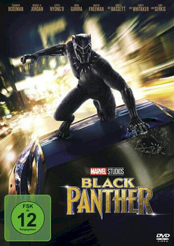 Marvel - Black Panther - DVD / Blu-ray - *NEU*