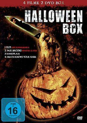 Halloween-Box - 4 Filme auf 2 DVDs! - NEU