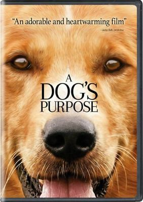 A Dog's Purpose (DVD) NEW MOVIE** FAST SHIPPING