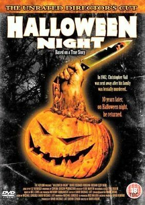 HALLOWEEN NIGHT UNRATED DIRECTORS CUT BASED ON A TRUE STORY ASYLUM UK DVD L