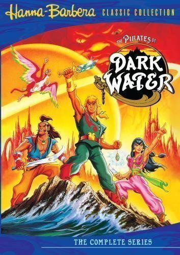 The Pirates of Dark Water Complete Series (21 Episodes) BRAND NEW 4-DISC DVD SET