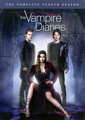 The Vampire Diaries: The Complete Fourth Season (Season 4) (5 Disc) DVD NEW, used for sale  Shipping to Canada