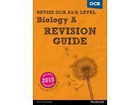 A level OCR Biology and Chemistry books from £3