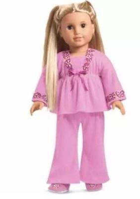 American Girl Doll Julie's Classic Pjs NEW!! Pink Pajamas
