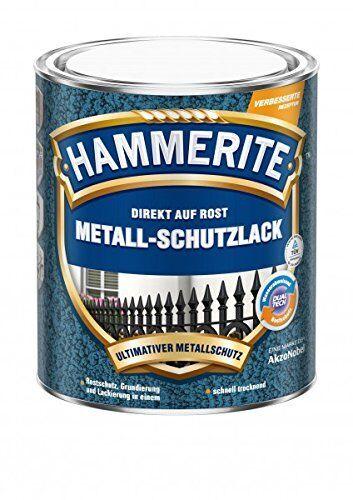 Hammerite Metall-Schutzlack glänzend silber 250ml #