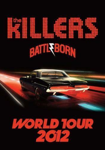 The Killers Poster Ebay