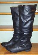 Womens Wide Calf Boots 10
