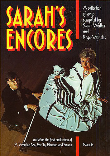 Sarahs Encores Learn to Play Roger Vignoles Voice Piano Music Book