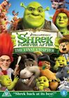 Antonio Banderas Family DVDs & Shrek Forever After Blu-ray Discs