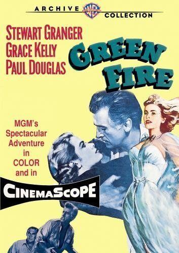 GREEN FIRE (1954 Stewart Granger) Region Free DVD - Sealed