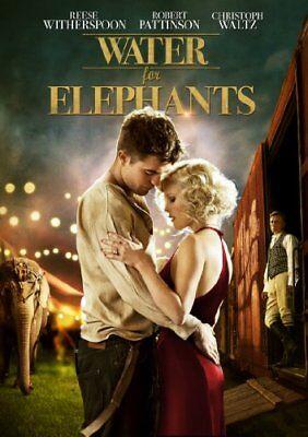 DVD - WATER FOR ELEPHANTS (2011) DE L'EAU POUR LES ÉLÉP (NEW / NIEUW / NOUVEAU )