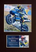 Valentino Rossi Signed