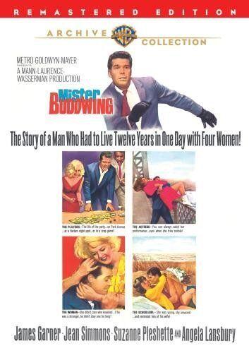 MISTER BUDDWING (1966 James Garner) remastered - Region Free DVD - Sealed