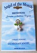 Birthstone Angel Pins