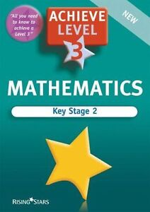 Year 6 Maths Revision L3 (Achieve Level 3), Very Good Condition Book, Various, I