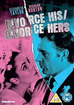 Divorce His, Divorce Hers DVD (2019) Richard Burton, Hussein (DIR) cert PG