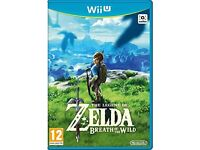 The Legend Of Zelda - Breath Of The Wild Wii U - Brand New And Sealed
