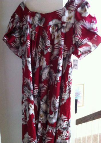Hawaiian Mumu Ebay