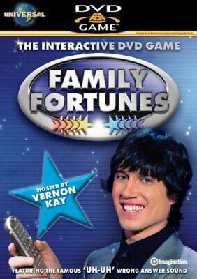 Family Fortunes - Family Fortunes 2 - Interactive DVD Game hosted... - DVD  NOVG