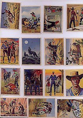 Billy Jenkins Original Sammelbilder fast Komplett 28/32 Feindlliche Rancher