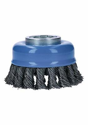 Bosch Wbx328 Cup Brush 3 Wheel X-lock Arbor Carbon Steel Knotted Wire