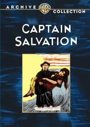 CAPTAIN SALVATION - (B&W) (1927 Lars Hanson) Region Free DVD - Sealed