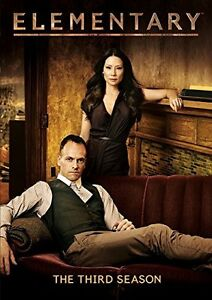 Elementary - Season 3 [DVD]   Jonny Lee Miller, Lucy Liu, Aidan Quinn, Jon Micha