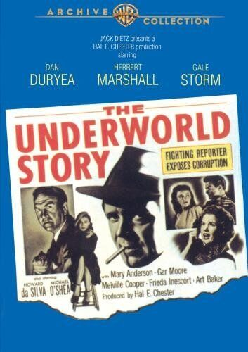 UNDERWORLD STORY - (B&W) (1950 Herbert Marshall) Region Free DVD - Sealed