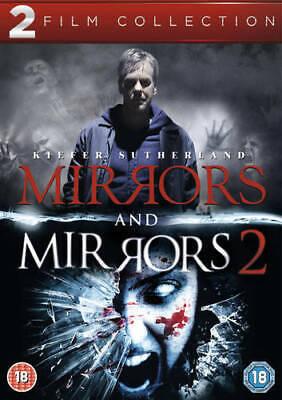 Mirrors / Mirrors 2 DVD Movies set (2013) Kiefer Sutherland NEW Gift Idea
